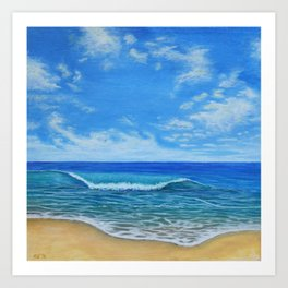 Beach Day 2 Art Print