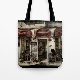 Lé Cafe Tote Bag