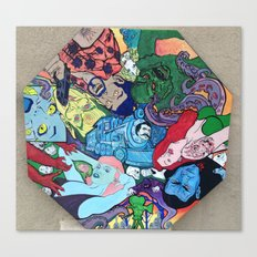 Electrix Canvas Print