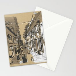 Quartier Petit Champlain, Quebec, Canada Stationery Cards