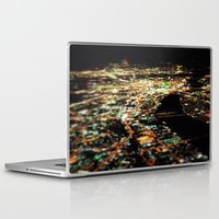 dallas Laptop & iPad Skins featuring DALLAS SKYLINE by Kelsey Barrentine