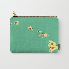 Hawaii in Flowers Carry-All Pouch
