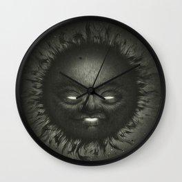 Black Star Wall Clock