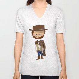 Blondie The Good The Bad and The Ugly Unisex V-Neck