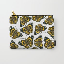 Painted lady butterfly pattern Carry-All Pouch