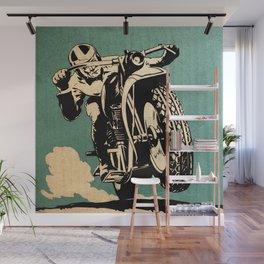 Motorcycle Race Wall Mural