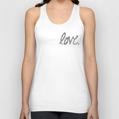 Love Zentangle  Unisex Tank Top