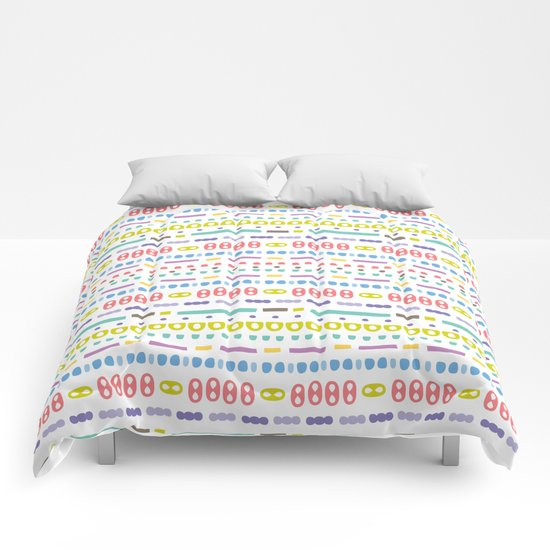 Retro Motivo Comforters