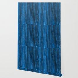 Dark Blue Falling Wallpaper