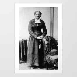 Harriet Tubman Portrait - Circa 1873 Art Print