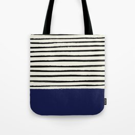 Navy x Stripes Tote Bag