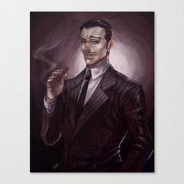 ADDAMS FAMILY - Gomez Canvas Print