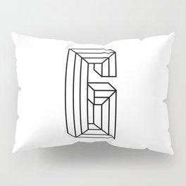 Letter G Pillow Sham