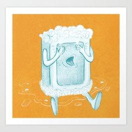 Rub A Dub, D'oh! Art Print