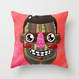 """""""Watch the Throne"""" by Jacob Livengood Throw Pillow"""