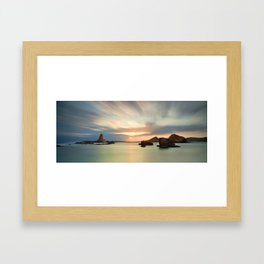 Cala Barril Framed Art Print