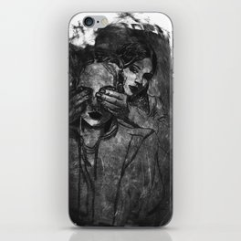 We against the world iPhone Skin