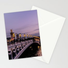 Nights in Paris Stationery Cards