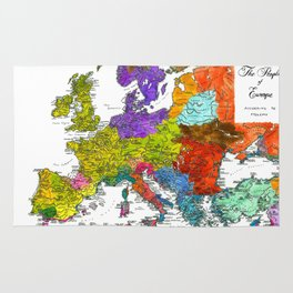 The Peoples of Europe According to Ptolemy Rug