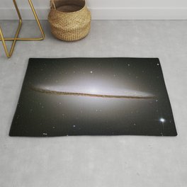 The Sombrero Galaxy - Messier Object 104 Rug