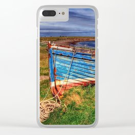 Lindisfarne By The Sea Clear iPhone Case