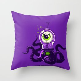 ZLUUURG! Throw Pillow