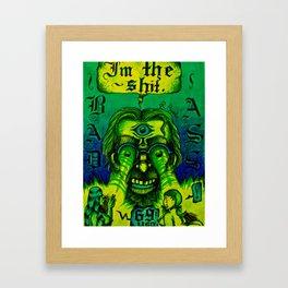 R. Crumb tribute version 2 Framed Art Print