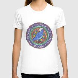 Bernie Sanders Birdie Mandala  T-shirt