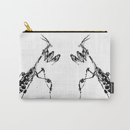 Violin Mantis Carry-All Pouch