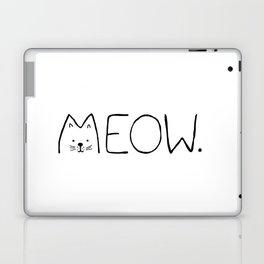 meow. Laptop & iPad Skin
