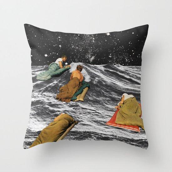 DRIFTERS Throw Pillow