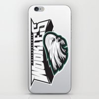 nfl iPhone & iPod Skins featuring Philadelphia Wookies - NFL by Steven Klock