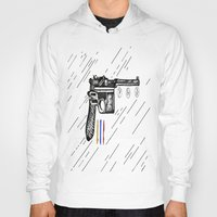 gun Hoodies featuring Gun  by Forrest Wright