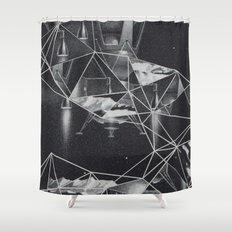 cosmico fantastico Shower Curtain