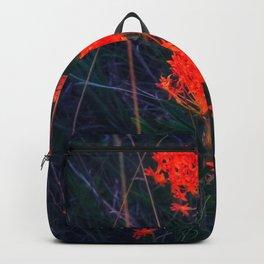 Neon Orange Butterfly Weed Backpack