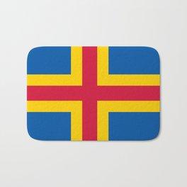 flag of Aland Bath Mat