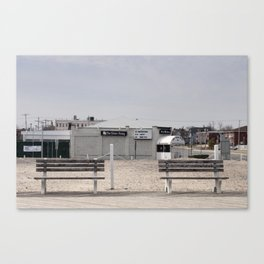 Springsteen's Jersey Canvas Print