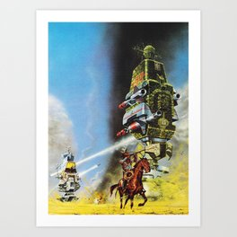 The Wild West Guide To The Galaxy #230 Art Print