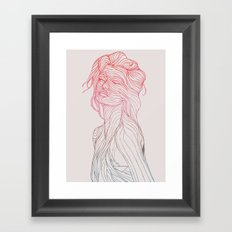 Someplace Beautiful Framed Art Print