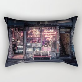 Underground Boxing Club NYC Rectangular Pillow
