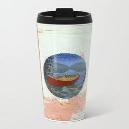 red canoe Travel Mug