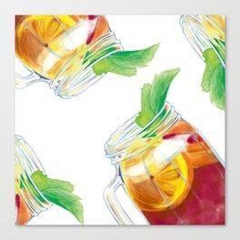 Summer Cocktail Canvas Print