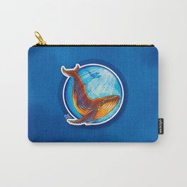 Humback Whale Carry-All Pouch