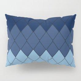 Blue rombs Pillow Sham