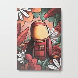The Autumn spaceman Metal Print