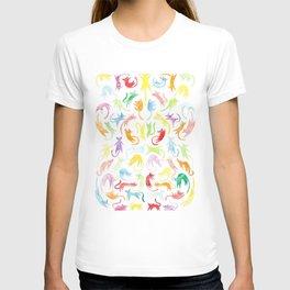 Neon Kittens T-shirt