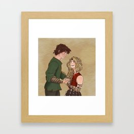 there will always be a Hiccup and Astrid Framed Art Print