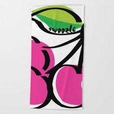 Cherry Swoozle Beach Towel