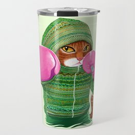 BOXING CAT 4 Travel Mug