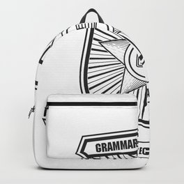 Grammar Police, Comma Unit Backpack